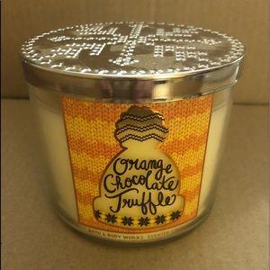 Other - Orange Chocolate Truffle candle